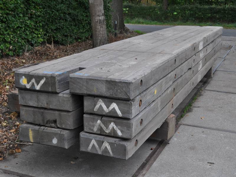 15 cm thick used crane mats